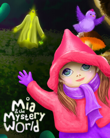 Mia & the Mystery World | Riddlebook